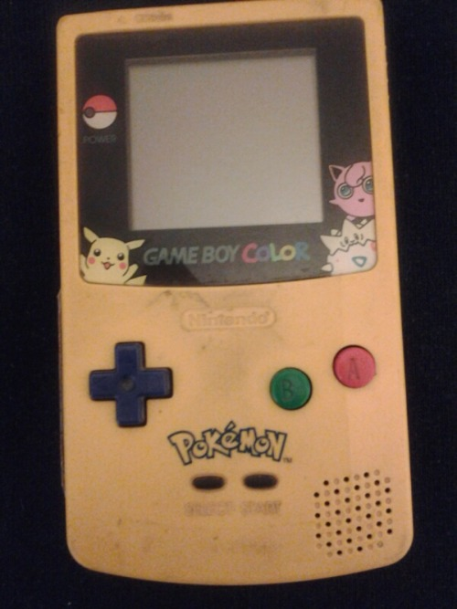 This was the very first Pokémon thing that I ever got.( Came with Yellow Version) It was a Christmas gift from my mom in the 90's.  Man…. that was the greatest christmas ever!