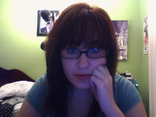 This is my Writer's Block face.