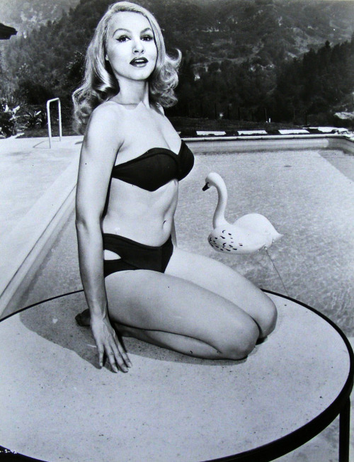 Add some poolside to your day with… Julie Newmar.