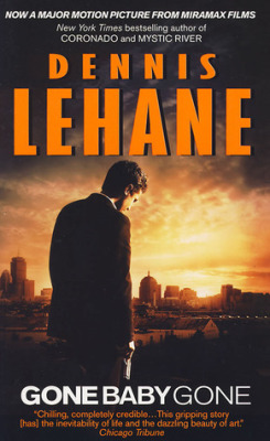 Gone Baby Gone, Dennis Lehane (F, 20s, brown bob, red sweater, purple scarf, tote, Q train) http://bit.ly/Zq53cL
