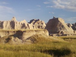 Badlands, South Dakota submitted by: weirdness-love, thanks!