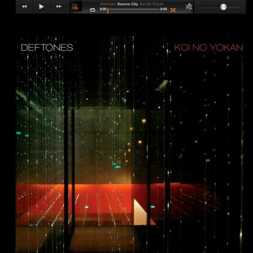The new #deftones  cd is good 😎🎧🎵🎤 #music #love