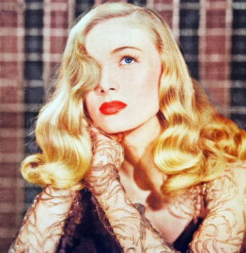 "the-asphalt-jungle:  Happy Birthday, Veronica Lake  (November 14th, 1922 - July 7th, 1973) ""I wasn't a sex symbol, I was a sex zombie."""