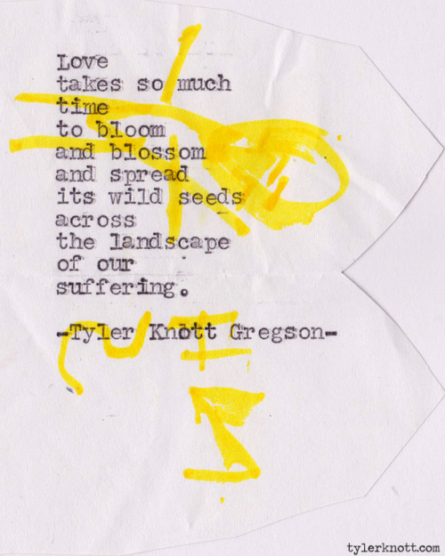 Typewriter Series #238 by Tyler Knott Gregson