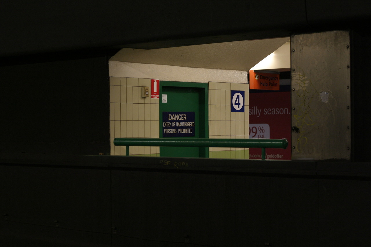 Town Hall Station, Sydney  (My attempts at photography)