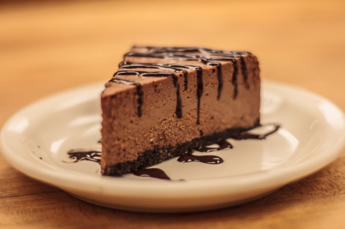 Chocolate Cheesecake by Justin Romo