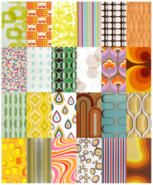 70's Geometric Wallpapers