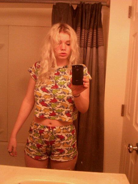 whatever at least i have these dinosaur pajamas.