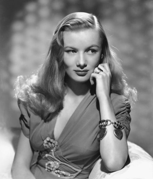 "Happy Birthday, Veronica Lake  (November 14th, 1922 - July 7th, 1973) ""I was always a rebel and probably could have gotten much farther had I changed my attitude. But when you think about it, I got pretty far without changing attitudes. I'm happier with that."""