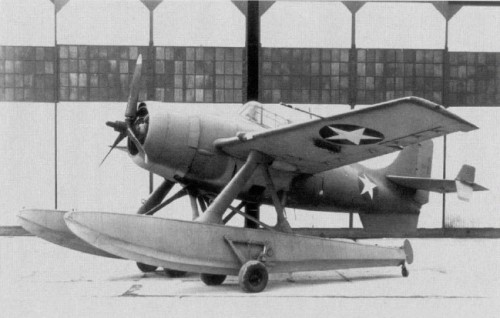 Another 'W' Wednesday warplane…this time a Grumman Wildcatfish floatplane fighter prototype