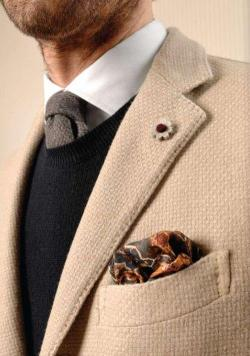 thetieguy:  again i like the fabric on this blazer.
