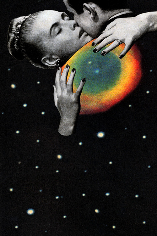 """Starstuff Infatuation"" by Eugenia Loli  Follow the artist: TumblR 