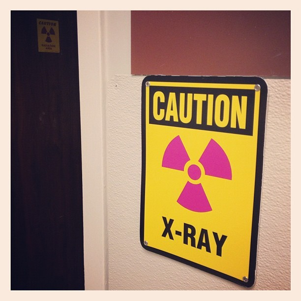 Caution X-Ray - #er #xray #sign #la #losangeles #911 #ambulance #caution #ems #emt