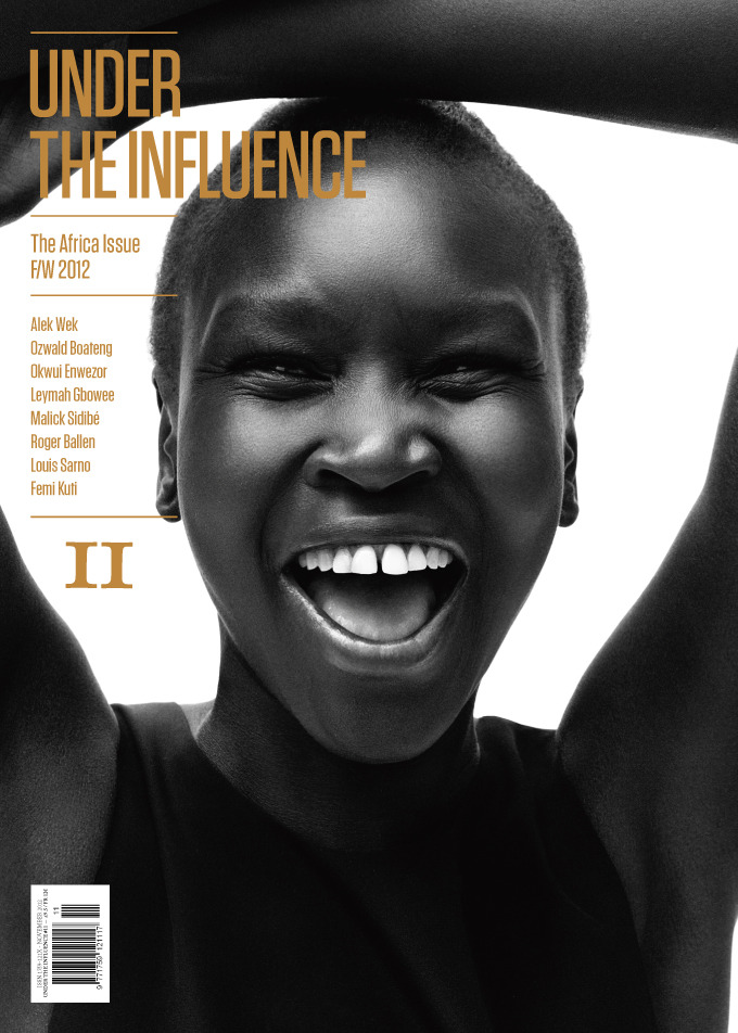 We're very excited to introduce you to our 11th edition, the Africa issue! Out November 15th.Alek Wek photographed by Daniel Jackson.Pre-order your copy here