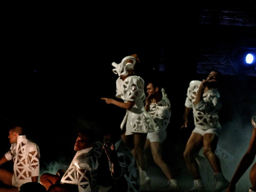 Lady Gaga performing Bad Romance photographed by Me.