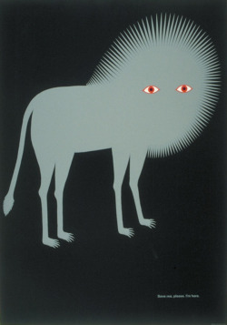 Save me, please. I'm here.Poster by Kazumasa Nagai. Found here.