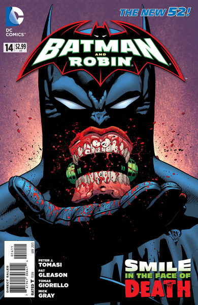 Batman and Robin #14 Cover by Patrick Gleason, Mick Gray. Follow Rad Recorder.
