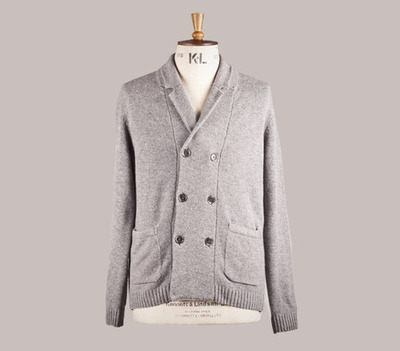 Hackett and Monocle exclusive knitwear collaboration Iconic British brand Hackett London and premium global affairs magazine Monocle have once again joined forces to create an exclusive garment, only available to purchase through The Monocle Shops and webshop from November 2012. The limited edition, double breasted cardigan is made from a luxurious soft blend of wool and cashmere and features the exclusive 'Hackett X Monocle' logo engraved on the buttons. Available in a steely grey, the knitwear picks up on key trends from the autumn/winter season and features design details such as a simple notch lapel collar, creating a smart but relaxed garment that is easy to wear.