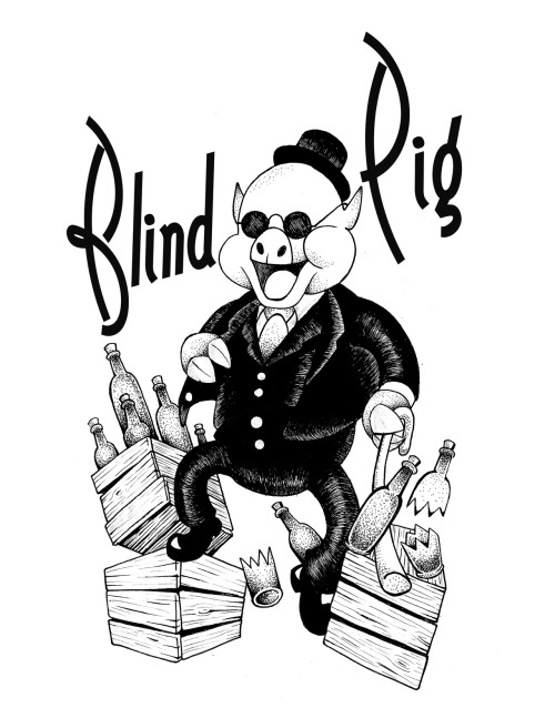 Logo design i did for Blind PIg.  Make'n quite the ruckus!