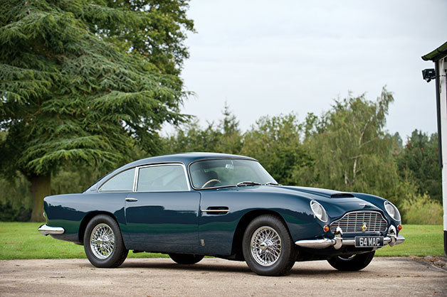 Paul McCartney's Aston Martin DB5 sells for $495K. Let it be.