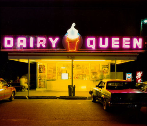 rumblecore:   Dairy Queen, Iowa City, Iowa, 1988 — Jim Dow