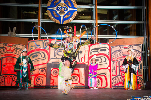 Squamish Lil'wat Cultural Centre Receives Cultural Authenticity Award The Squamish Lil'wat Cultural Centre (SLCC) located in Whistler, BC has added another honor to their collection of recent awards with an important prize from the Aboriginal Tourism Association of B.C.