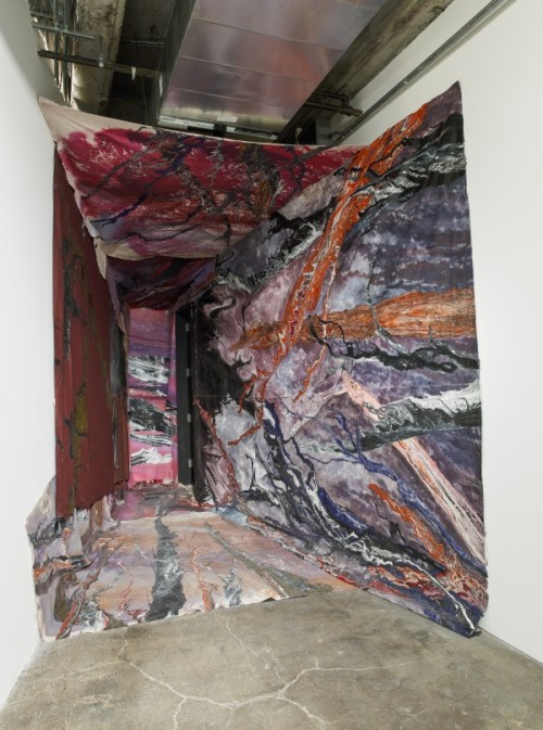 contemporaryartdaily:  Rodney McMillian at Maccarone