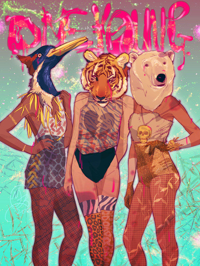 just-art:  Die Young by Galvanise The Dog Follow on tumblr