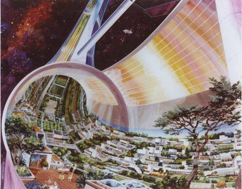 bohemianhomes:  Bohemian Homes: Space Colony of the future: NASA