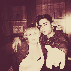 Zac Efron and Rebel Wilson