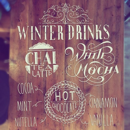The new Winter Drinks menu is finished. Which will you try first? (at Barlow & Fields)