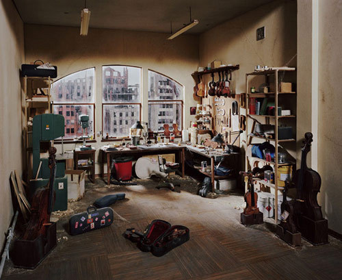 "Dioramas by Lori Nix |  Insane: """"The City"", by Lori Nix. It's just not fair to simply label her a photographer when you consider that what you're actually looking at is an insanely detailed hand-built diorama. Each diorama takes about seven months to build and photograph, and they range from about half a metre to nearly two metres in diameter. She shoots the scenes with an 8×10 medium format camera. See more below!"""