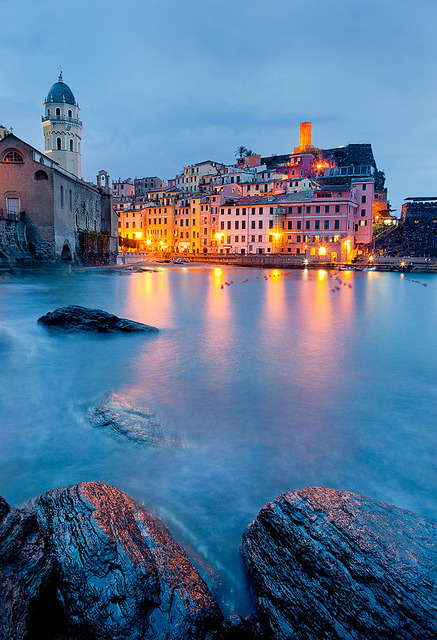 Italy - Vernazza: Italian Charm by John & Tina Reid on Flickr.