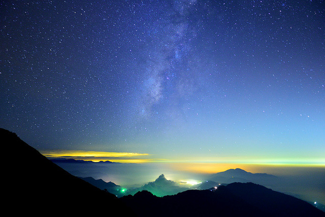 合歡銀河 Milky Way by Vincent_Ting on Flickr.