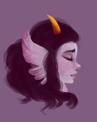 Did a quick speedpaint last night of Fef and lost motivation. Mehh.