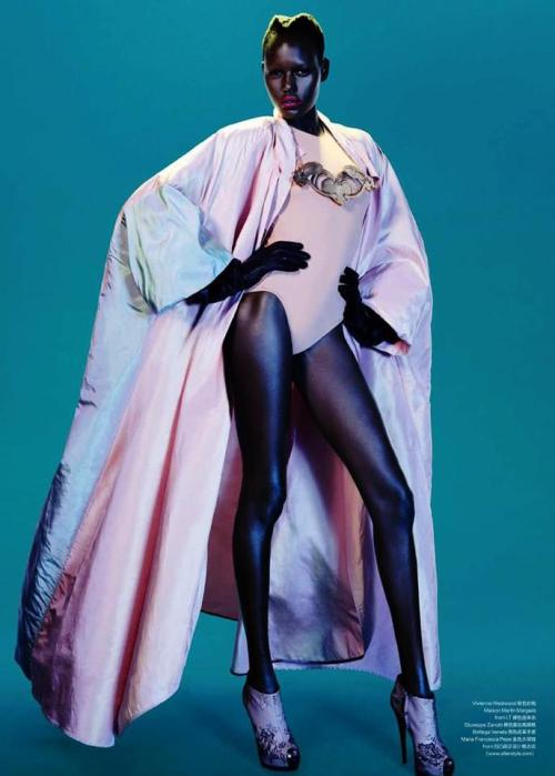 Ajak Deng photographed by John-Paul Pietrus for Modern Weekly China