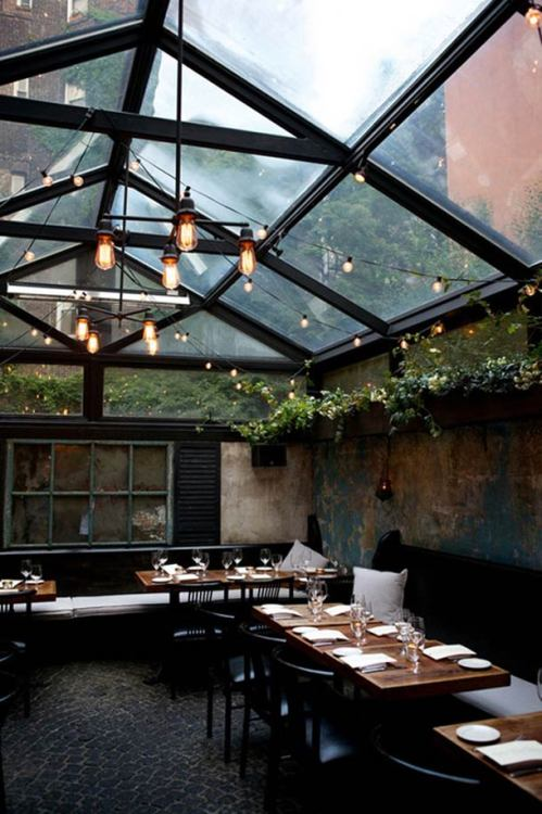 aros:  Urban Rusticity in NYC: August Restaurant