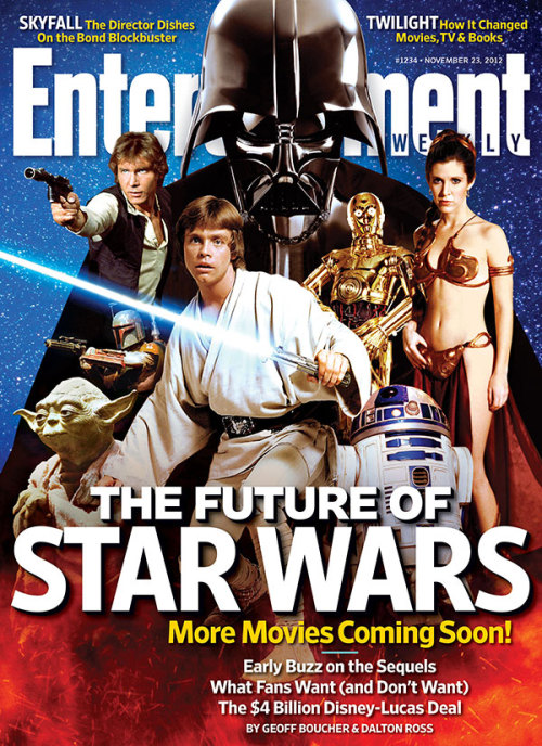 This week in EW: We take a closer look at Star Wars, the once and future franchise. These are the drones you're looking for.