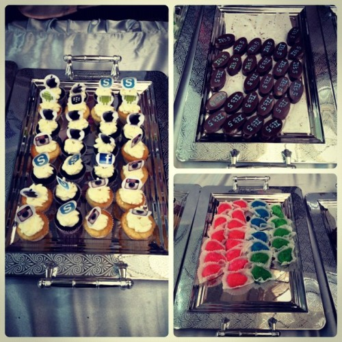 These were DELISH! (at University of Bahrain)