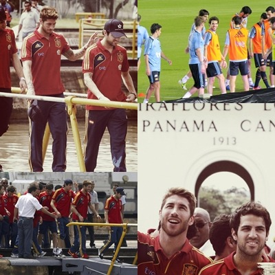 baarcaa4:  What is up whit Cesc and Ramos?