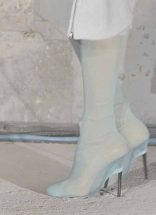 wink-smile-pout:  Shoes at Maison Martin Margiela Fall 2011