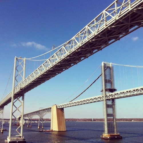 Chesapeake Bay Bridge #Maryland