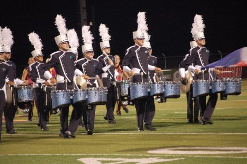 Throwback… Surf 2010; brand new uniforms and sky-high plumes. And still my teeth are everywhere.