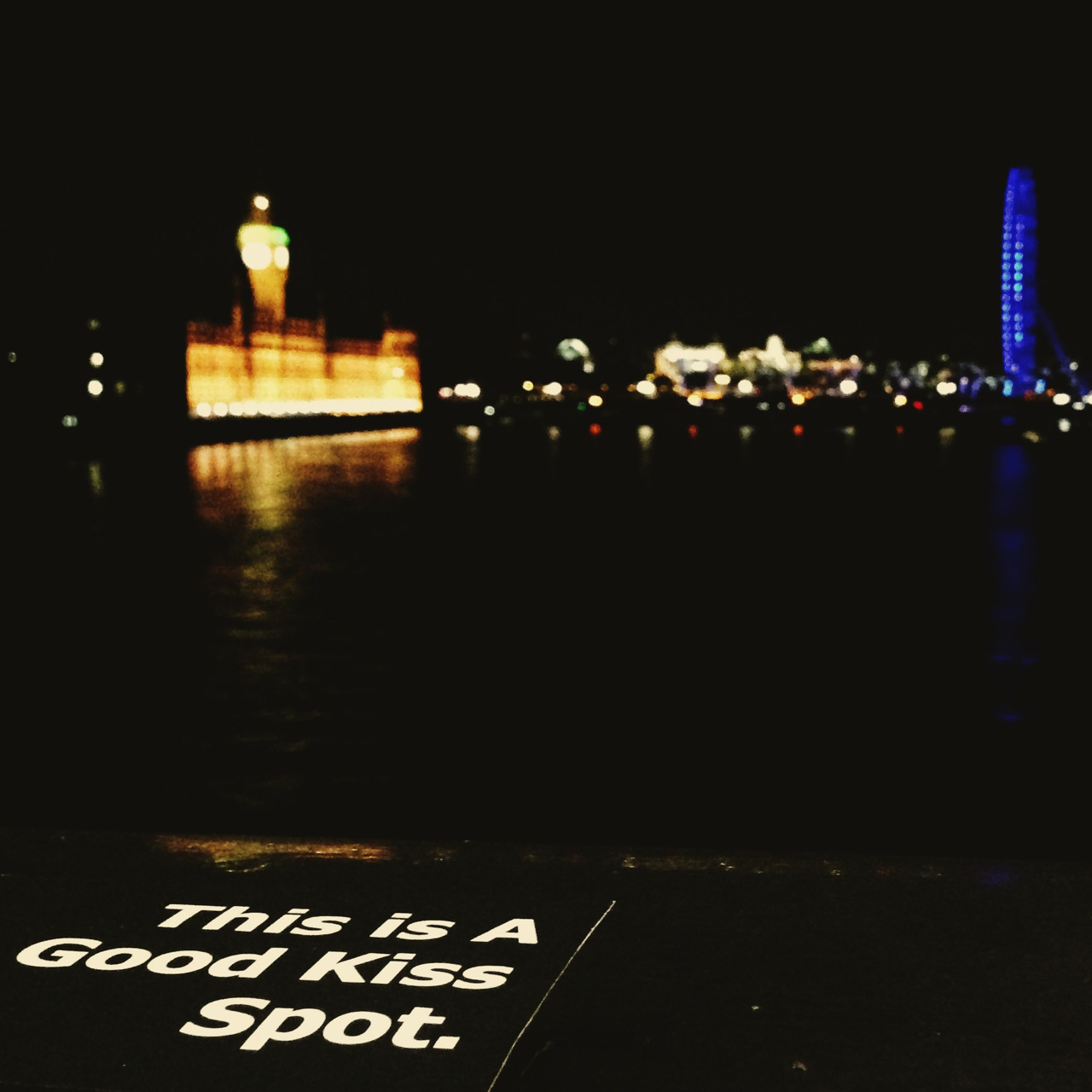 """A Good Kiss Spot"" (Lambeth Bridge)"