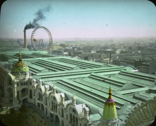 expositionframes:  Palace of Chemical Industries, 1900 Exposition Universal, Paris