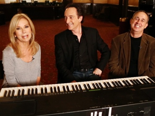 Kathie Lee Gifford sings! The songwriters of SCANDALOUS get animated as they tell the story behind their splashy Broadway show