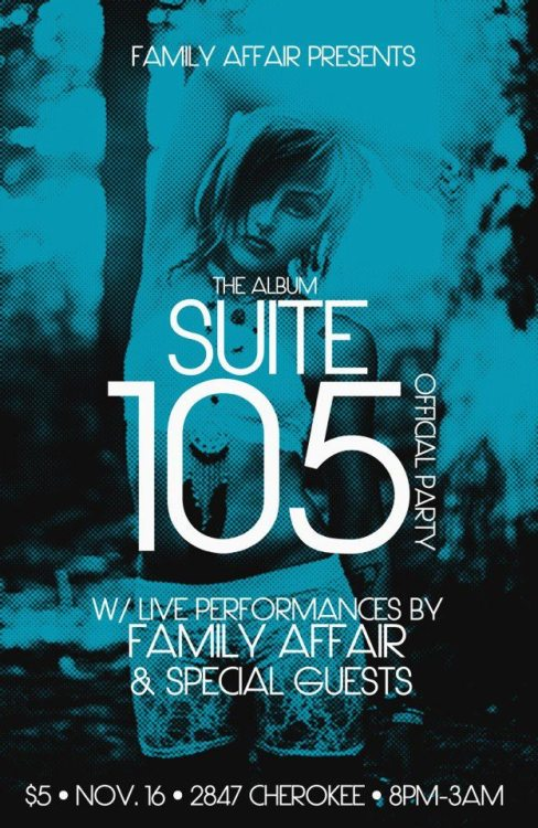 This Friday at The Blank Space (2847 Cherokee)  SUITE 105 Official Party