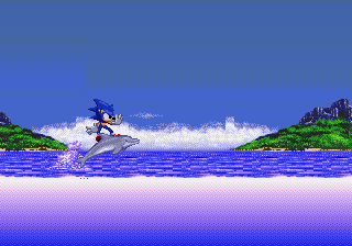 How about an Ecco/Sonic crossover? Yes please!