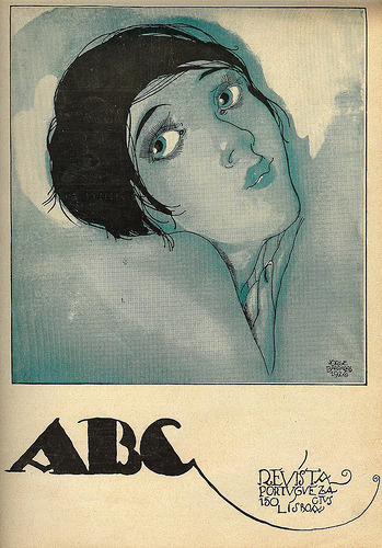 ilustracaoportuguesa:  Jorge Barradas, ABC magazine, No. 318, August 19 1926 on Flickr.  Via Blog da Rua Nove.
