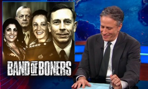 Band of Boners http://on.cc.com/W6ifUp Full Petraeus scandal coverage.